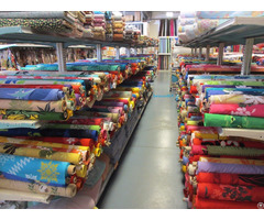 100% Cotton Fabrics Printed Dyed