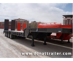 Lowbed Semi Trailer 4 Axle