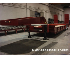 Lowbed Semi Trailer 2 Axle