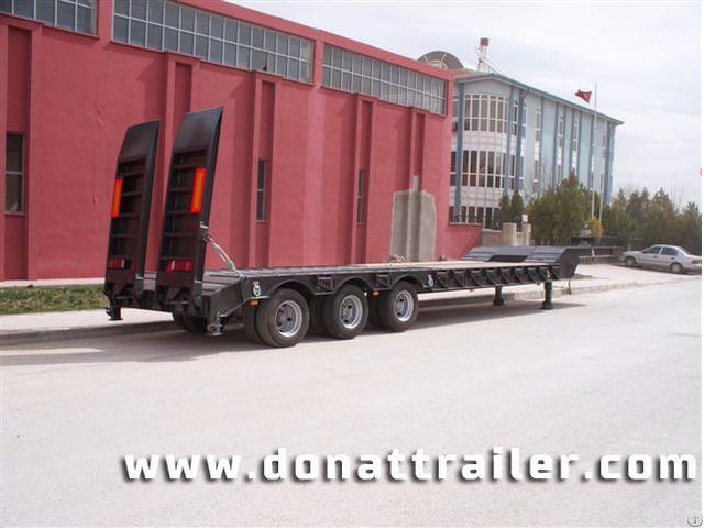 Lowbed Semi Trailer 3 Axle