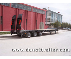 Lowbed Semi Trailer 3 Axle