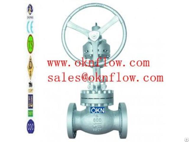 Carbon Steel Flange Rf Rtj Globe Valve Sales At Oknflow Com
