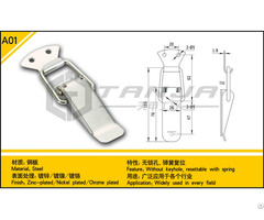 Tanja A01 Concealed Toggle Latch Steel Resettable With Spring And Without Keyhole