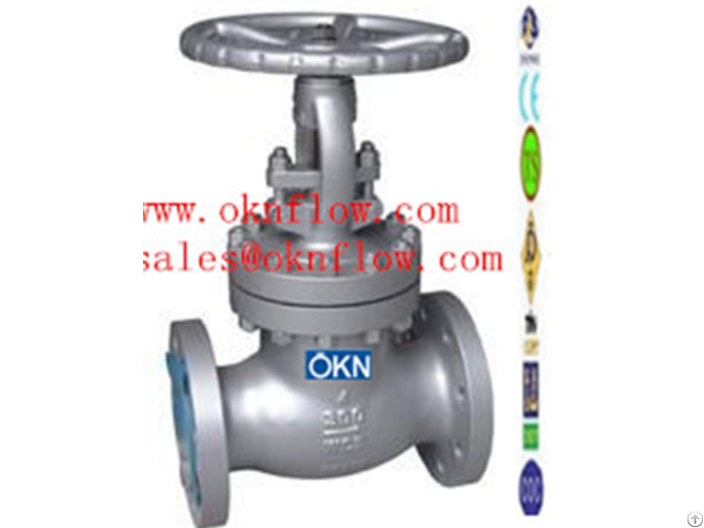 Wcb Wcc Wc1 Flanged Globe Valve Sales(at)oknflow Com