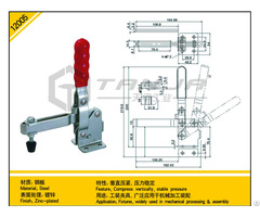 Tanja 12005 Steel Compress Vertically Stable Pressure Toggle Clamp
