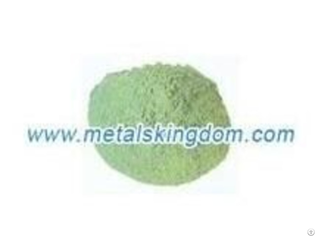 Nickel Monoxide 76% 5min Green