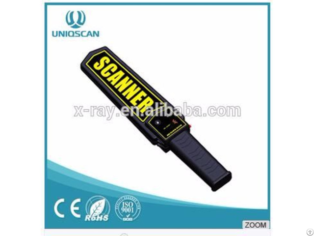 Security Equipment Handheld Metal Detector For Airport Railway Station Hotel