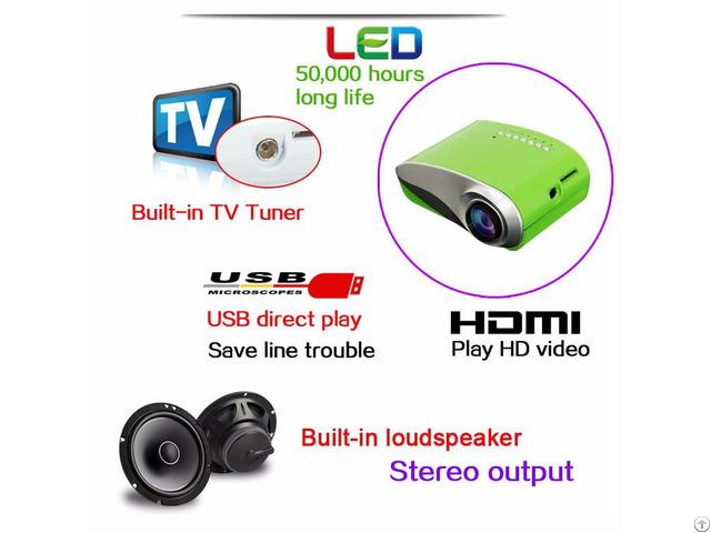 Yi 800 Mini Multifunctional Projector