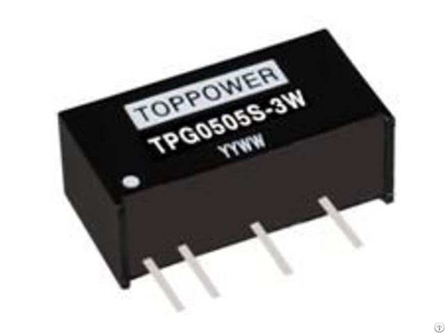 3w Isolated Single Output Dc Converters