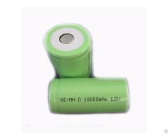 Nimh Rechargeable Batteries 1 2v D 10000mah