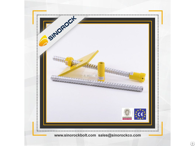 Sinorock Civil Engineering Tools Self Drilling Steel Anchor Bolt