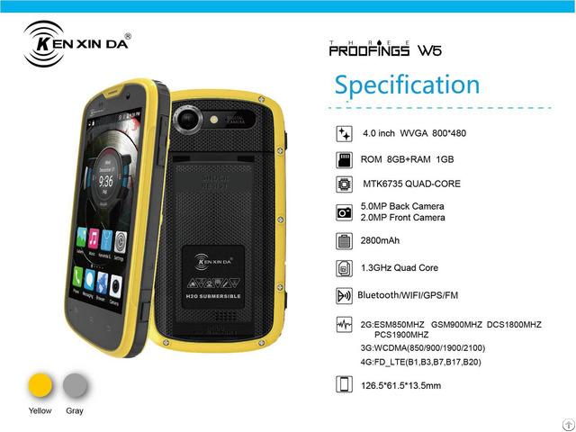 Kenxinda 4 0 Tri Proofing Smart Phone W5