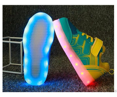 New Popular Fashion Luminous Light Up Shoes For Kid