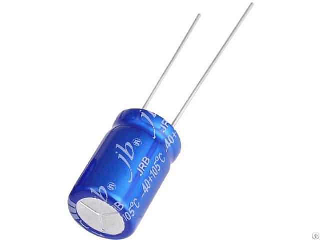 Jrb Radial Aluminum Electrolytic Capacitors