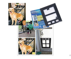 Plastic Cat Screen Door Pet Flap 20 3 25 4 1 8cm