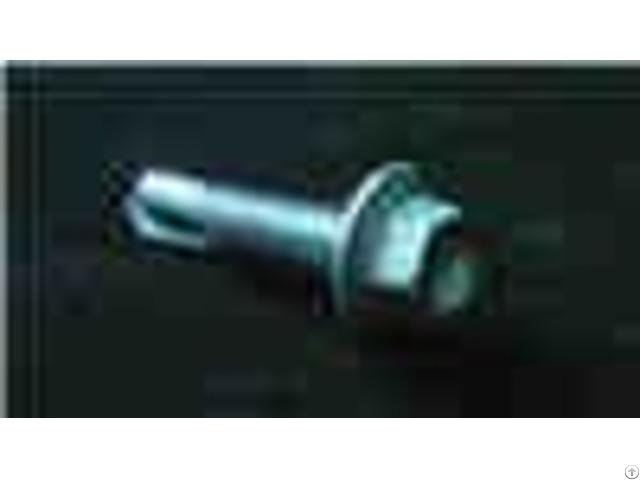 Black Oxidation Set Screw Titanium Fastener Fully Threaded Hex Socket Head