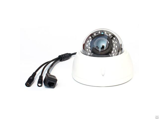 Vari Focal Dome With Ir White Ip Camera