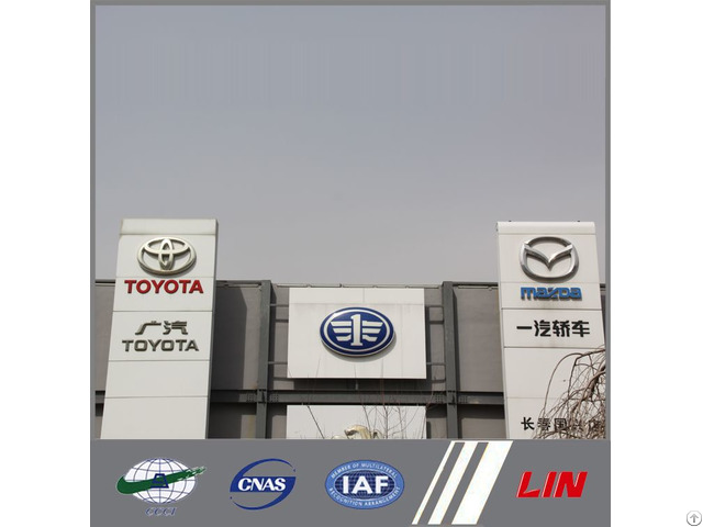Car Showroom Signs