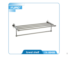 Hotel Style Foldable Towel Rack