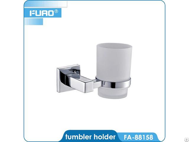 Wall Mounted Brass Tumbler Holder