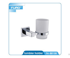 Wall Mounted Brass Tumbler Holder