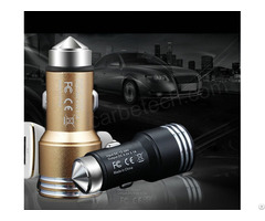Car Charger With Safety Hammer Cb Ch002