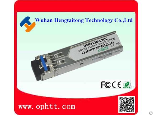 Sfp Duplex Lc 3g 1310nm 20km Fiber Optic Transceiver Module
