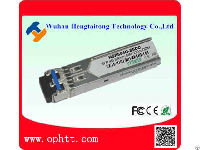 Sfp Duplex Lc 4 25g 850nm 550m Fiber Optic Transceiver Module