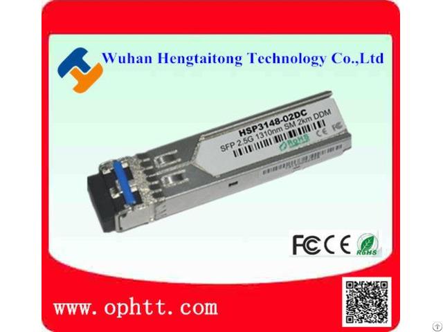 Sfp Duplex Lc 2 5g 1310nm 2km Fiber Optic Transceiver Module