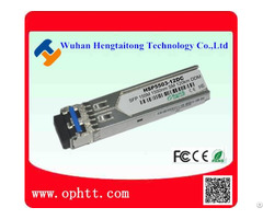 Sfp Duplex Lc 155m 1550nm 120km Fiber Optic Transceiver Module