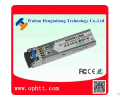 Sfp Duplex Lc 155m 1550nm 150km Fiber Optic Transceiver Module