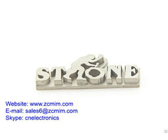Stainless Logo Metal Charm