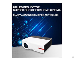 Yi 808 Hd Projector With Hifi Sound And Bulit In Wifi
