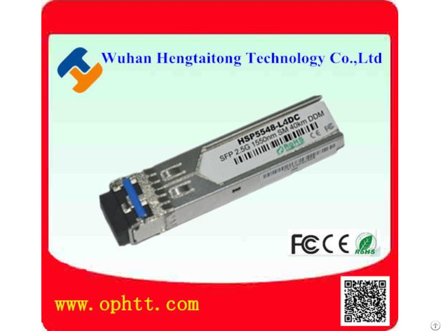 Sfp Duplex Lc 2 5g 1550nm 40km Fiber Optic Transceiver Module