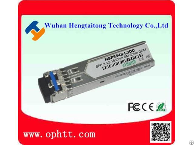 Sfp Duplex Lc 2 5g 1550nm 30km Fiber Optic Transceiver Module