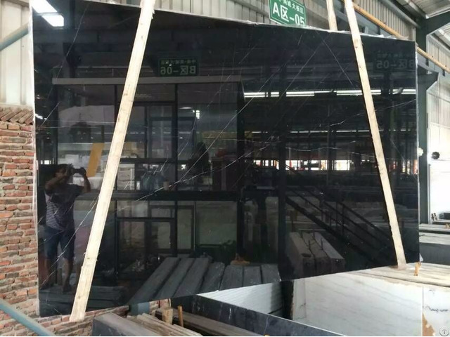 Chinese Nero Marquinia Marble Tile And Slab Cut To Size And Slabs