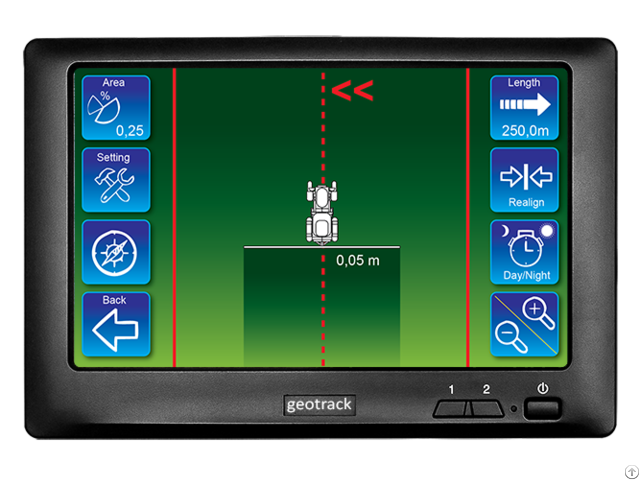 Geotrack Explorer Gps Guidance For Agriculture
