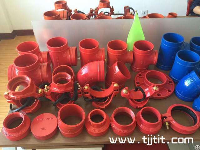 Ccc Ul Fm Ductile Iron Grooved Fittings