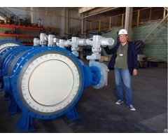 Large Size Electric Metal Seated Butterfly Valve