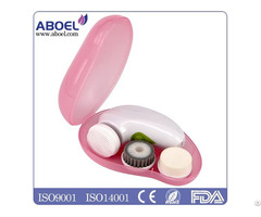 New Product 2016 Beauty Care Handheld Waterproof Rechargeable Sonic Facial Brush