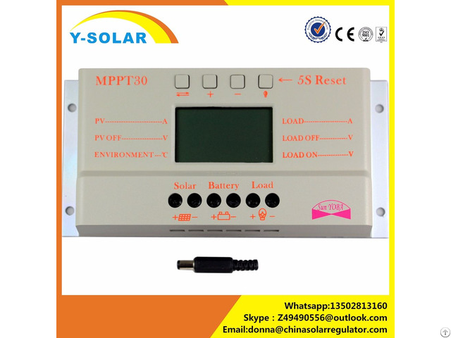 Y Solar M30 10a 20a 30a Charge Controller