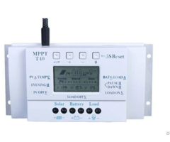 Y Soalr Mppt 10a 20a 30a 40a Lcd And Usb 5 Charging Solar Charge Controller