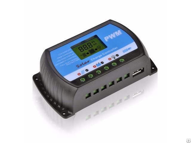 Y Solar Rtd10a 20a 30 Lcd Pwm 12v 24v Charge Controller