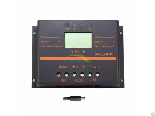 Y Solar S80 80a 60a Lcd 12v 24v Pwm Charge Controller
