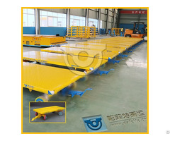 Non Power Towed Flatbed Transfer Trolley