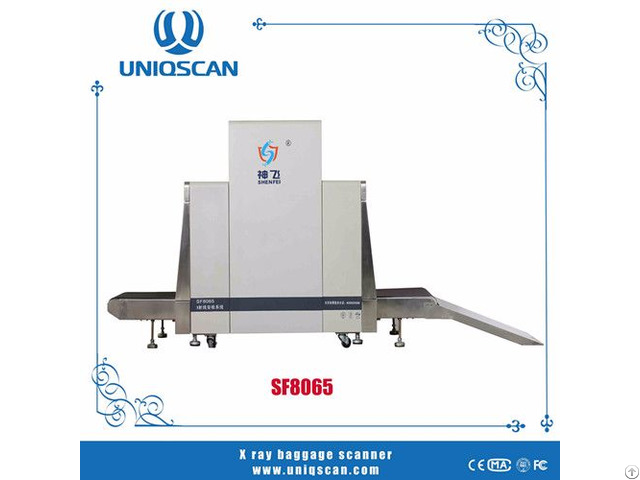 Security Check Equipment X Ray Baggage Scanner Sf8065