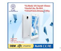 China Mobile Phone Id I55 Quad Core Dual Sim Android Smartphone