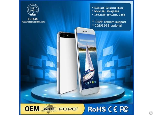 Ultra Slim 7mm Id Q5251 4g Android 6 0 Smart Phone