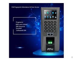 F18 Fingerprint Time Attendance Access Controller