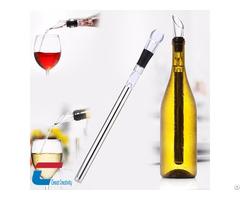 Bar Accessories Stick Wine Milk Cooler Chiller With Pourer